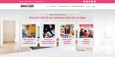 diseño de paginas web houseandkids